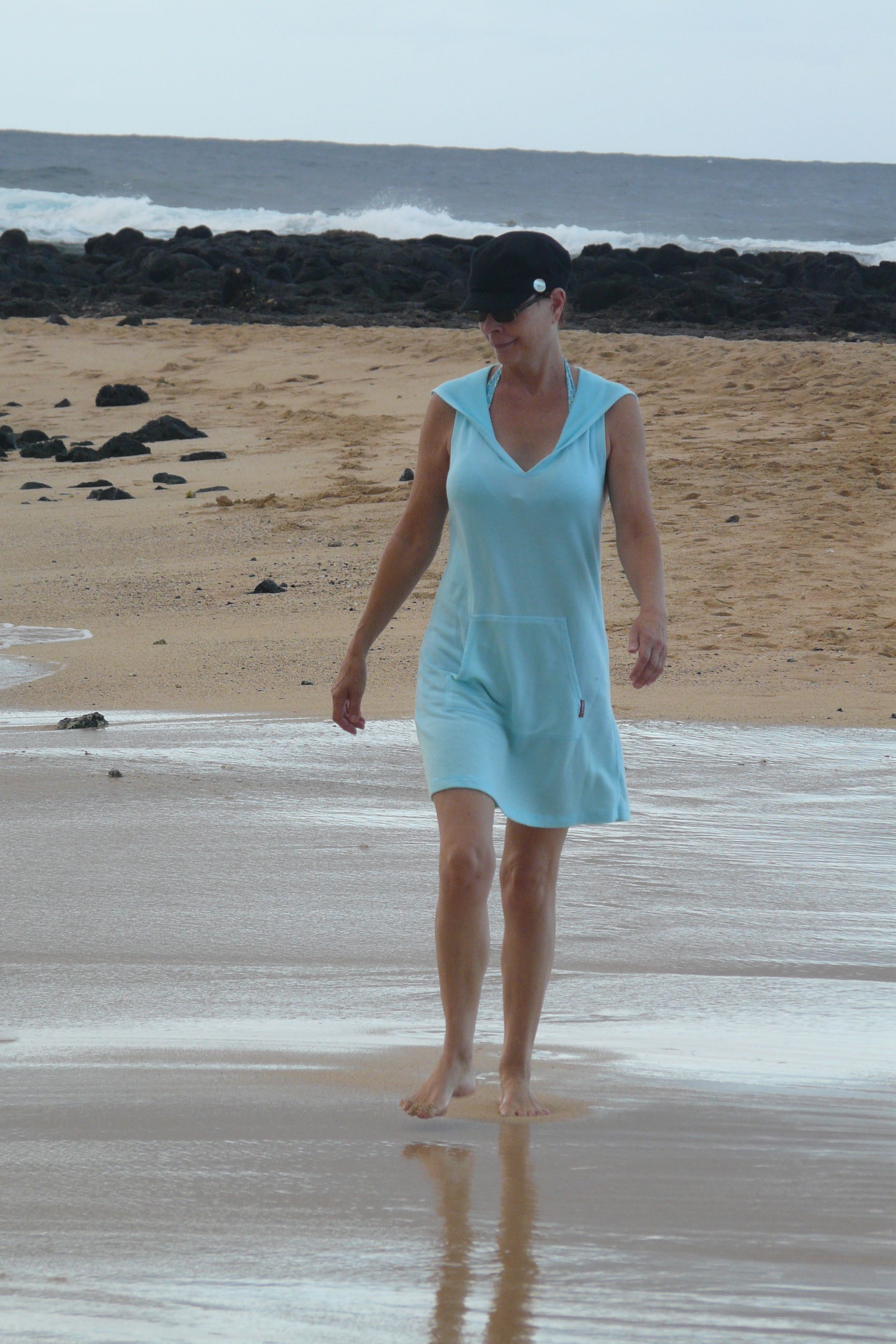 Kauai beach walk