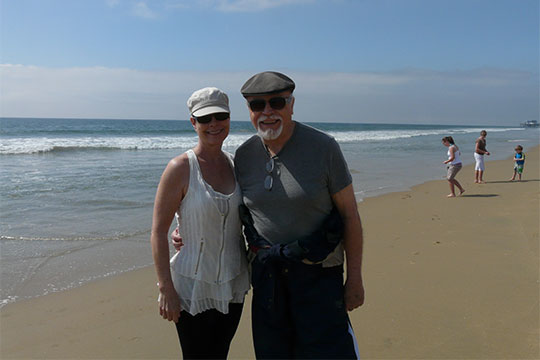 Newport Beach John and me