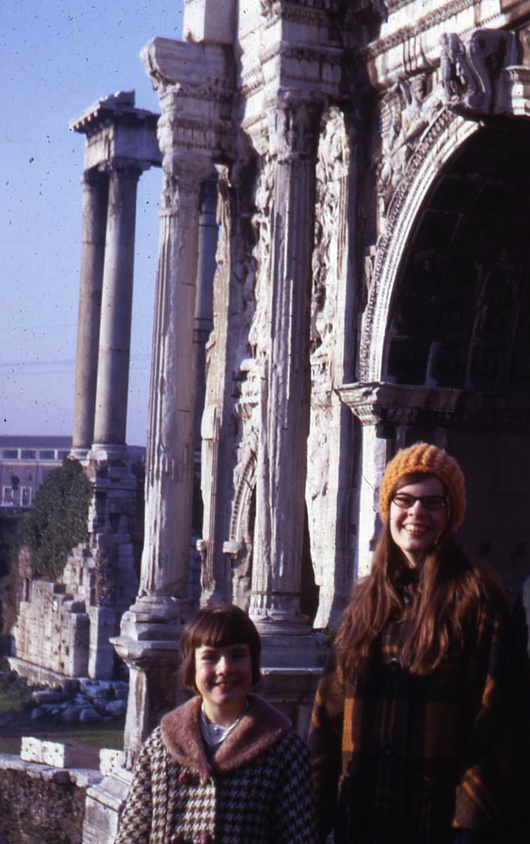 Rome, Laura and Carly