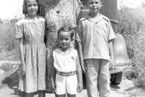 Grandma, Mom and brothers